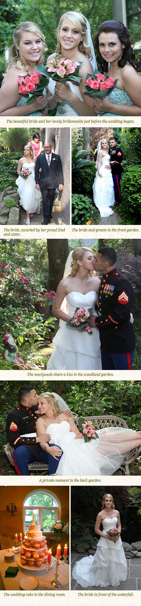 A Wedding at Woodland Cottage
